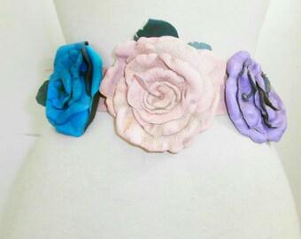 Pastel Flower Belt