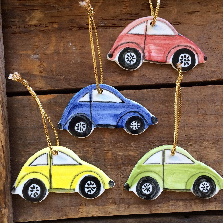 VW Bug CAR Ornament car ornament Volkswagen Beetle Ornament