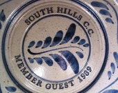 VALENTINESALE Vintage South Hill Country Club Member Guest 1989 signed on back