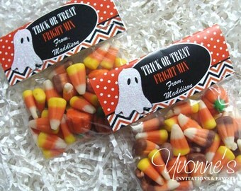 Halloween Treat Goody Bags - for Trick or Treat, Halloween Party. School or Class Party