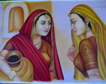Two Indian Traditional Paniharis