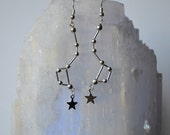 Biolojewerly  -- Constellation Earrings - Big Dipper - Ursa Major