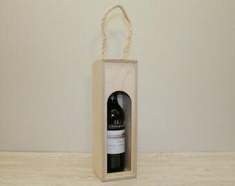Wooden Wine Bottle Box / Wine Displaying Box / Plywood Box