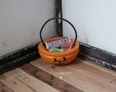 Miniature Halloween Bucket - Jack-o-lantern