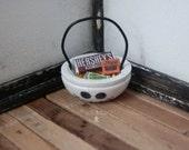 Miniature Halloween Bucket - Ghost