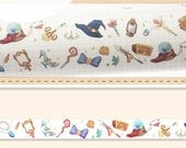 1 Roll of Limited Edition Washi Tape- Witch's Tool and Magical Items