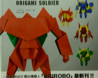 Making Your Own OriRobo Origami Robots Origami Soldier by Muneji Fuchimoto  Japanese Craft Book (In Chinese)