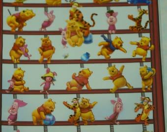 Japanese/ Korean Paper Stickers - Winnie the Pooh