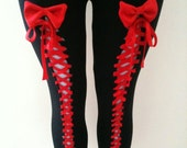 VIXENOBSCURE Cotton Lycra Superstretchy thick leggings pants tights black pink green blue pink purple nude white purple