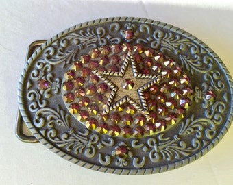 Belt Buckle Star Crystals  SALE
