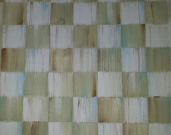 BEIGE CHECK FABRIC