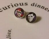 Harley and the Joker Earrings