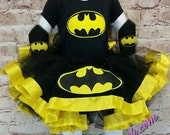 Tutu, AllAboutCloth tutu outfit, Halloween tutu, Halloween outfit, Bat, Batman, cake smash, Birthday outfit, Custom tutu, Custom Halloween