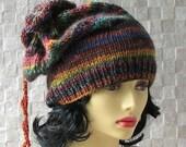 Womens hat, women slouchy beanie, winter hat, women slouchy hat, slouchy knit hat, beanie hat, women knit slouchy hat