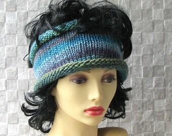 Lovely Designer Knit headband Soft Headband Ear Warmer  Hair Accessories Winter Fashion 2015  Hand-knitted  by the AlbadoFashion