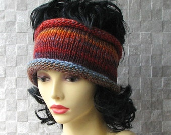 Lovely  Knit headband Soft Headband Ear Warmer Hair Accessories Winter Fashion 2015 Hand-knitted by the AlbadoFashion