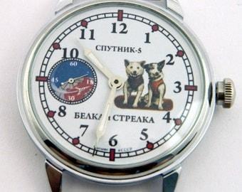 USSR Russian watch MOLNIJA Molnia Belka-Strelka #326S