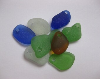 sea glass supplies beach glass bulk  sea glass drilled beach glass 9 drilled JQ