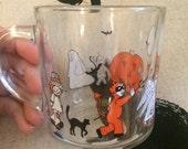 Halloween Glass Cup