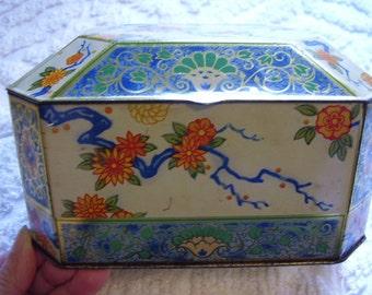 Vintage Collectible Tin Box