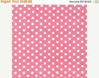 ON SALE Everything Nice Dots in Pink from Robert Kaufman