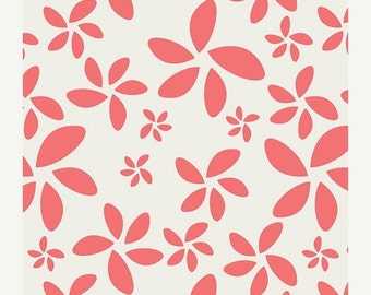 CLEARANCE Flora in Watermelon from Minimalista by Art Gallery Fabrics