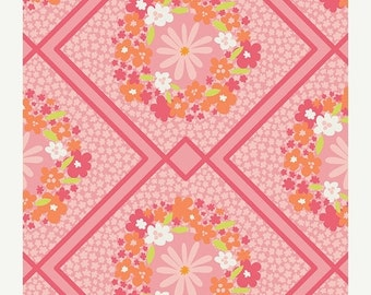 ON SALE Cottage Treasures in Pink  from Dreamin' Vintage by Jeni Baker for Art Gallery Fabrics