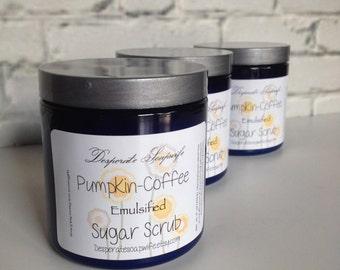 PUMPKIN or POMEGRANATE COFFEE Scrub,Emulsified