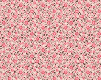 Riley Blake Rodeo Rider Calico Pink C4534 FAT QUARTER by Samantha Walker