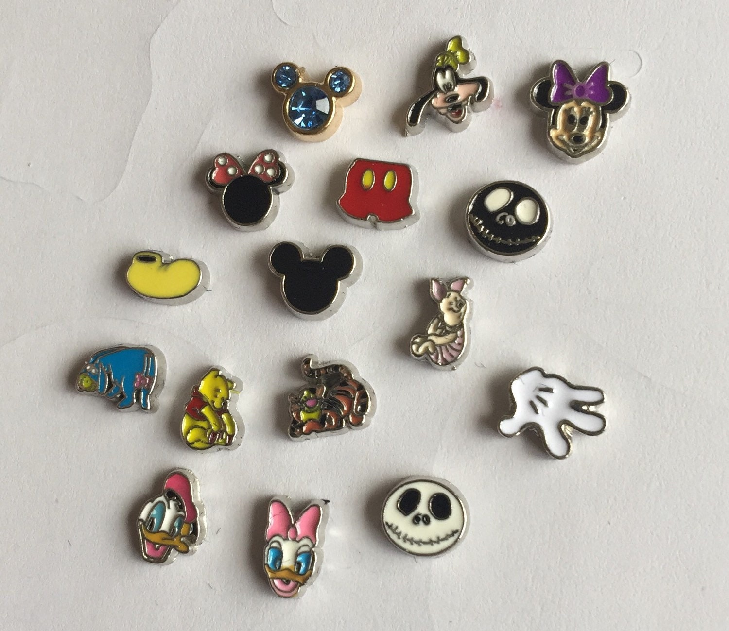 disney floating charms by jewelryandstuffbylis on etsy