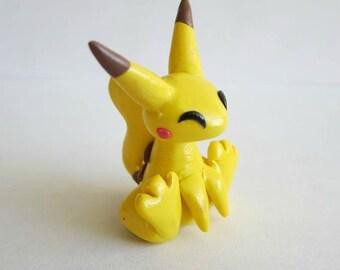 SALE - Pikachu Clay Sculpture