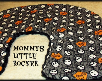 Jack Skellington Boppy Pillow Cover New