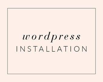 Wordpress Theme Installation Service, Installation for Wordpress Template