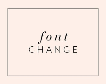 Font Change in Blogger or Wordpress Theme