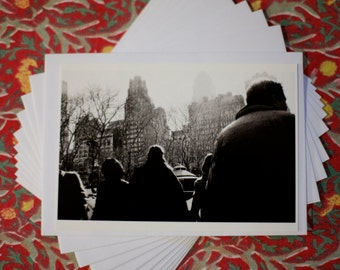New York City, Central Park A6 Postcard and Envelop