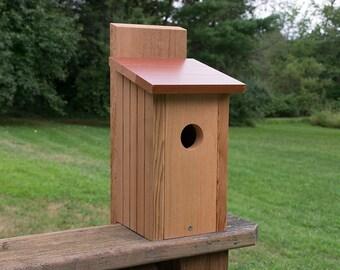 Cedar and Redwood Birdhouse