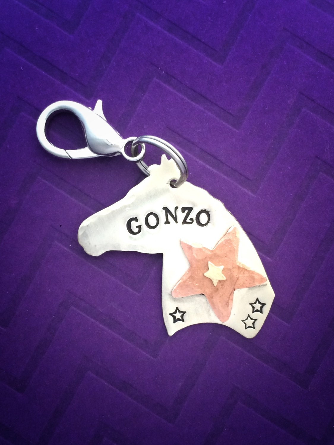 Personalized horse ID tag halter tag bridle tag mixed