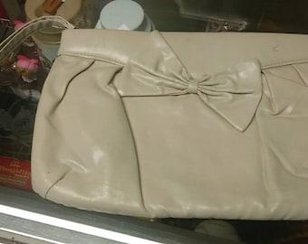 Vintage Bow Clutch