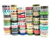 10 METERS (10+ YARDS) Multiple Designs Washi Tapes