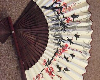 Large Asian Wall Fan