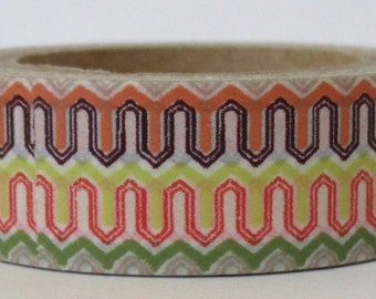 "Washi Tape ""Zipper""   10 Meters"