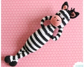 Zebra Crochet Pattern PDF Instant Download