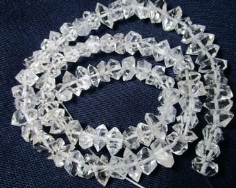 9 - 11 MM Full 16 Inch Herkimer Diamond Quartz Type Beads Strands Necklace Pakistan