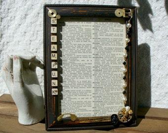 Steampunk Classic Picture Frame
