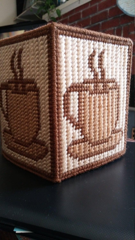 Coffee Tissue Box Cover