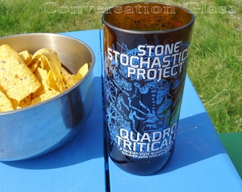 Recycled Stone Brewing Stochasticity Quadro Triticale Project Bottle Glass
