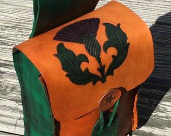 Leather Belt Pouch - FEOCHADAN