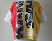 Vintage 1980s Colorful Print Kansai T-Shirt
