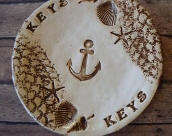Nautical Small Anchor Key Dish Realtor Closing gift