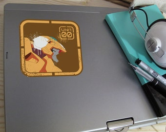 Gainax Series - Unit 00 Vinyl Decal